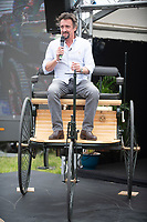 Richard Hammond at the The London Classic Car Show Syon Park london to launch  his new classic car restoration business 'The Smallest Cog' and talk about his passion for Classic cars ,at the Talks Theatre.,26th June 2021 photo by Toni Newton