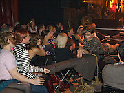 LEFT; JAIME WINSTONE;   IN AUDIENCE. The Pirate Provocateur Extravaganza launch party for the new Agent Provocateur Winter collection and for the release of Dirty Stop Out's new album 'Cuntro Classics' at KOKO. Campden. London. 13 November 2008 *** Local Caption *** -DO NOT ARCHIVE-© Copyright Photograph by Dafydd Jones. 248 Clapham Rd. London SW9 0PZ. Tel 0207 820 0771. www.dafjones.com.