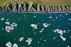 Ice in the Beaufort Sea along Yukon's North Slope coastline