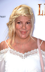 Tori Spelling attends the Weinstein Company's LEAP! premiere at the Grove Theatre on August 19, 2017 in Los Angeles, California. Photo by Lionel Hahn/AbacaPress.com