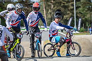 #78 (WHYTE Tre) GBR, #515 (SHARROCK Paddy) GBR and #164 (ISIDORE Quillan) GBR during practice at Round 5 of the 2018 UCI BMX Superscross World Cup in Zolder, Belgium