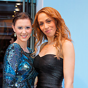 NLD/Amsterdam/20120507 - Premiere Jackie, Danielle Frederiks - van Aalderen en vriendin Glennis Grace