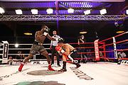 Boxen: Universum Boxpromotion, Boxgala, Hamburg, 19.06.2021<br /> WBC-Youth-Weltmeisterschaft: Rafael Bejaran (GER) - Landy Kore (DEN)<br /> © Torsten Helmke