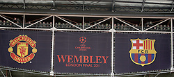 27.05.2011, Wembley Stadium, London, ENG, UEFA Champions League Final, FC Barcelona vs Manchester United, Training Manchester United, im Bild .The Wembley  Stadium is getting ready to host the Champions League Final between Barcelona and Manchester United at the Wembley Stadium  in London    on 27/05/2011. EXPA Pictures © 2011, PhotoCredit: EXPA/ IPS/ Marcello Pozzetti +++++ ATTENTION - OUT OF ENGLAND/UK and FRANCE/FR +++++