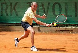 Edi Sep, Drzavno prvenstvo novinarjev v tenisu 2019, on June 12, 2019 in Tivoli, Ljubljana, Slovenia. Photo by Vid Ponikvar / Sportida