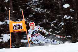 28.12.2017, Stelvio, Bormio, ITA, FIS Weltcup, Ski Alpin, Abfahrt, Herren, im Bild Josef Ferstl (GER) // Josef Ferstl of Germany in action during mens Downhill of the FIS Ski Alpine Worldcup at the Stelvio course, Bormio, Italy on 2017/12/28. EXPA Pictures © 2012, PhotoCredit: EXPA/ Johann Groder