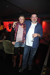 FRED MANN and EMMA HILL at a party hosted by Mulberry at Punk, 14 Soho Square, London on 14th October 2008.