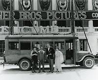1928 Warner Bros. studios on Sunset Blvd.