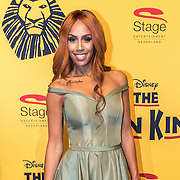 NLD/Scheveningen/20161030 - Premiere musical The Lion King, Glennis Grace