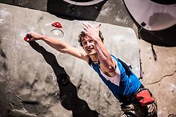 ONDRA Adam of CZE during Finals IFSC World Cup Competition in sport climbing Kranj 2019, on September 29, 2019 in Arena Zlato polje, Kranj, Slovenia. Photo by Peter Podobnik / Sportida