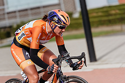 Chantal Blaak's solo assault to a second Women's WorldTour victory - Women's Gent Wevelgem 2016, a 115km UCI Women's WorldTour road race from Ieper to Wevelgem, on March 27th, 2016 in Flanders, Belgium.