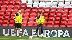 160413 Liverpool Press Conf & Training