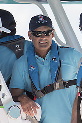June 25, 2017 - France - The Great Sound, Bermuda, 25th June 2017. Oracle Team USA CEO Sir Russel Coutts. Day four of racing in the America's Cup presented by Louis Vuitton. (Credit Image: © Panoramic via ZUMA Press)