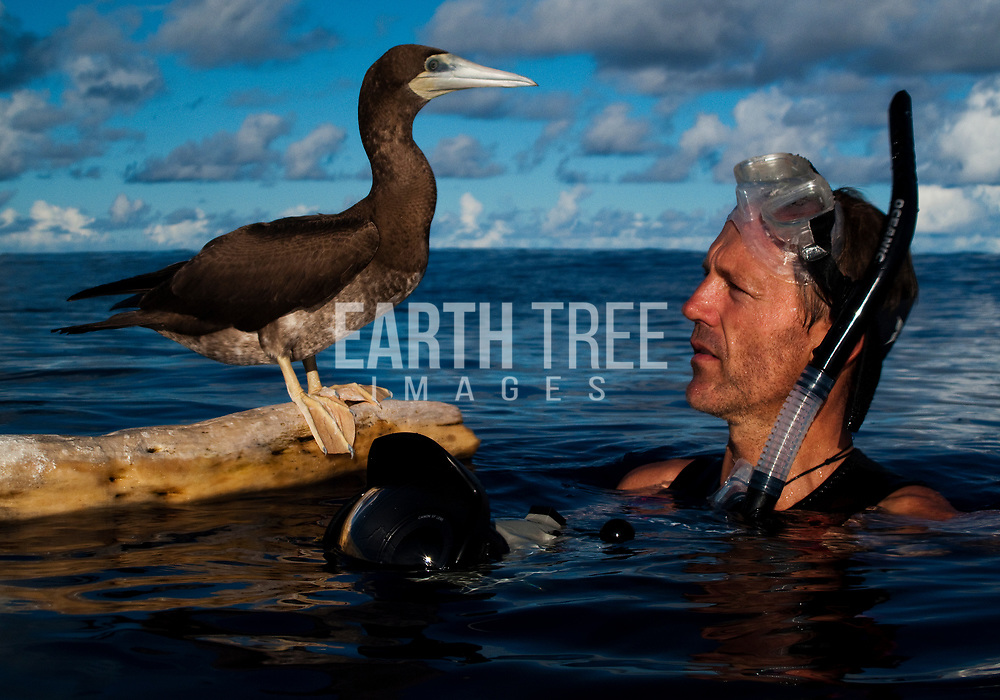 Paul Hilton of Racing Extinction is pictured on assignment in Raja Ampat, Indonesia. Photo: Daniel Julian