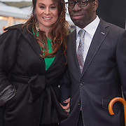 NLD/Amsterdam/20140508 - Wereldpremiere Musical Anne, Trijntje Oosterhuis en Alvin Lewis
