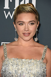 Florence Pugh attends the 25th Annual Critics' Choice Awards held at Barker Hangar on January 12, 2020 in Santa Monica, CA, USA. Photo by Lionel Hahn/ABACAPRESS.COM