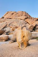 Granite boulders of Joshua Tree National Park California