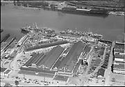 """aerials Wisco, Swan Island. May 9, 1952"""