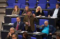 DEU, Deutschland, Germany, Berlin, 10.11.2016: Dr. Diether Dehm (Die Linke) im Deutschen Bundestag.
