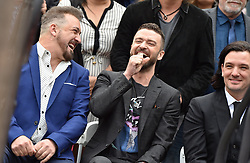 NSYNC honored with star on the Hollywood Walk of Fame. Hollywood, California. Pictured: Ellen DeGeneres. EVENT April 30, 2018. 30 Apr 2018 Pictured: NSYNC,Joey Fatone,Justin Timberlake. Photo credit: AXELLE/BAUER-GRIFFIN/MEGA TheMegaAgency.com +1 888 505 6342