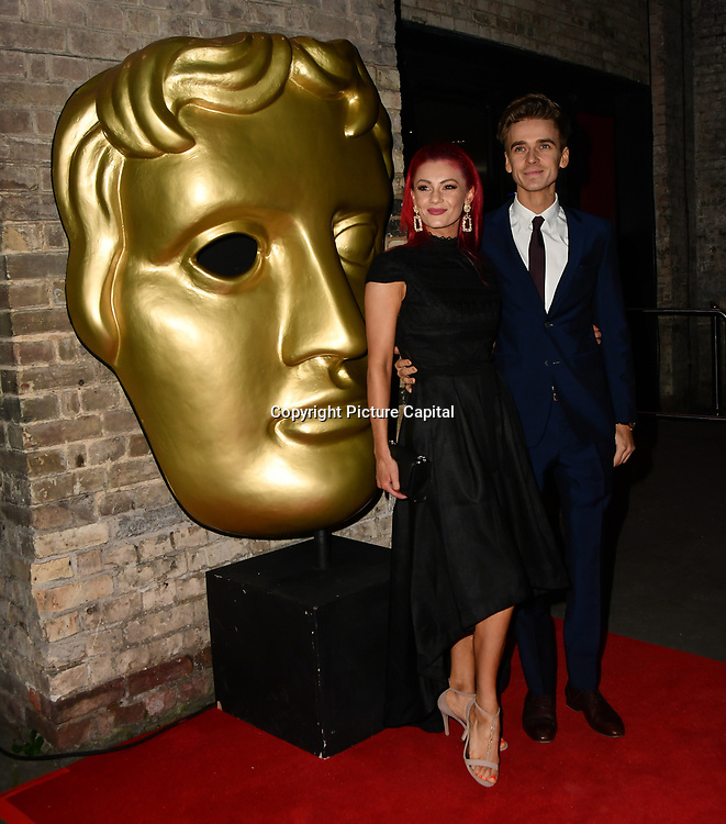 Dianne Buswell and Joe Sugg arrivers at the BAFTA Children's Awards 2018 at Roundhouse on 25 November 2018, London, UK.