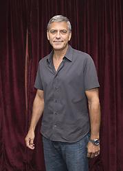 September 9, 2017 - Toronto, Canada - Director and Producer GEORGE CLOONEY promotes the movie 'Suburbicon' during Toronto Film Festival. (Credit Image: © Armando Gallo via ZUMA Studio)