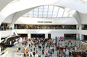 Picture by Shaun Fellows / Shine Pix Opening of the Grand Central shopping Centre in Birmingham and new store Pylones on 24th September 2015.
