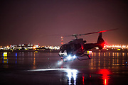 September 7-9, 2017: Helicopter landing during a rain storm in Las Vegas