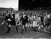 1958 - European Cup: Drumcondra v Atletico de Madrid at Dalymount Park
