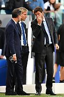 Fabio Paratici, Pavel Nedved, Andrea Agnelli <br /> Torino 02-10-2018 Juventus Stadium Football Calcio Uefa Champions League 2018/2019 Group H Juventus - Young Boys <br /> Foto Andrea Staccioli / Insidefoto
