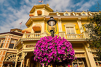 Main Street U.S.A., Magic Kingdom, Walt Disney World, Orlando, Florida USA