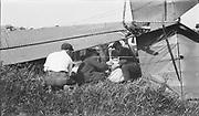 8903-31B Avro airplane crash. May 30, 1921 at Rose City Speedway, NE Portland, Oregon