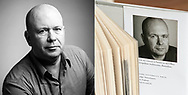 Portraits for Dutch architect and writer Reinier de Graaf. Usage: social media and his best selling book 'Four Walls and a Roof- The Complex Nature of a Simple Profession'