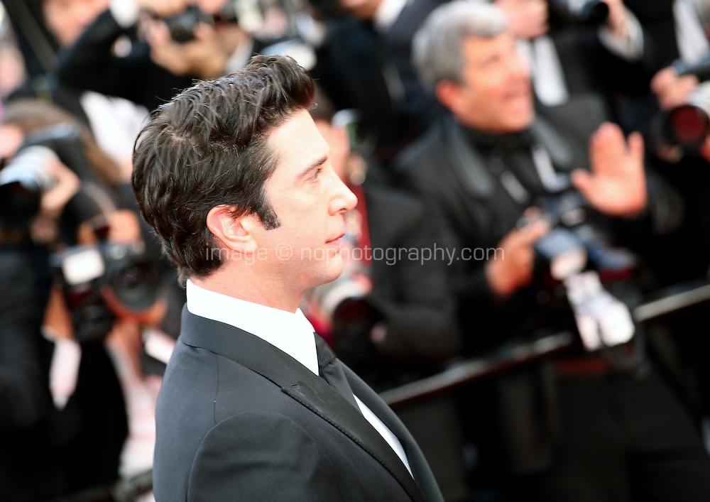 David Schwimmer at the gala screening Madagascar 3: Europe's Most Wanted at the 65th Cannes Film Festival. On Friday 18th May 2012 in Cannes Film Festival, France.