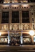 Opening of new Hackett flagship store. Regent St. London. 28 November 2013.