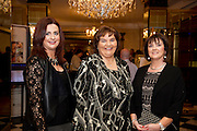 Ann Higgins, Mary Hoade and Mary Meehan Annaghdown  at the Gorta Self Help Africa Annual Ball in Hotel Meyrick Galway City. Photo: Andrew Downes, XPOSURE.