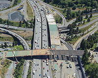 Construction of East McKinley Way/East D Street overpass, and new lanes on Interstate 5 in Tacoma.