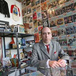 Mick Jones and his collection