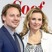 NLDAmsterdam/20171113 - Premiere Soof:Een nieuw Begin, Cas Jansen en partner Annelieke Bouwers