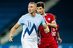 Blaz Kramer of Slovenia during the UEFA Nations League C Group 3 match between Slovenia and Moldova at Stadion Stozice, on September 6th, 2020. Photo by Grega Valancic / Sportida