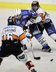 28.02.2010, Dom sportova, Zagreb, CRO, EBEL, KHL Medvescak Zagreb vs Graz 99ers, im Bild Ouellette Mike. EXPA Pictures © 2010, PhotoCredit: EXPA/ PIXSELL / SPORTIDA PHOTO AGENCY