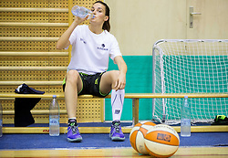 Helena Boada during practice session of Slovenian Women Basketball Team, on May 14, 2014 in Arena Vitranc, Kranjska Gora, Slovenia. Photo by Vid Ponikvar / Sportida