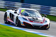 2012 FIA GT1 World Championship.Donington Park, Leicestershire, UK.27th - 30th September 2012.Alvaro Parente / Gregoire Demoustier, McLaren MP4-12C..World Copyright: Jamey Price/LAT Photographic.ref: Digital Image Donington_FIAGT1-17452