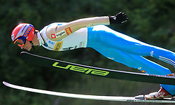 Matic Kramarsic of Slovenia at FIS Continental cup Ski-jumping Summer Kranj, on July 6, 2008, Kranj, Slovenia. (Photo by Vid Ponikvar / Sportal Images)<br /> <br /> / Sportida)