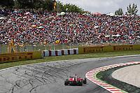 MOTORSPORT - F1 2013 - GRAND PRIX OF SPAIN / GRAND PRIX D'ESPAGNE - BARCELONA (ESP) - 10 TO 12/05/2013 - PHOTO : FRANCOIS FLAMAND / DPPI - ALONSO FERNANDO (SPA) - FERRARI F138 - ACTION