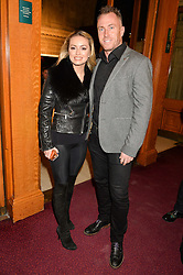 OLA JORDAN and JAMES JORDAN at the opening night of Amaluna by Cirque Du Soleil at The Royal Albert Hall, London on 19th January 2016.