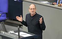 DEU, Deutschland, Germany, Berlin, 25.02.2021: Dr. Achim Kessler (DIE LINKE) in der Plenarsitzung im Deutschen Bundestag.
