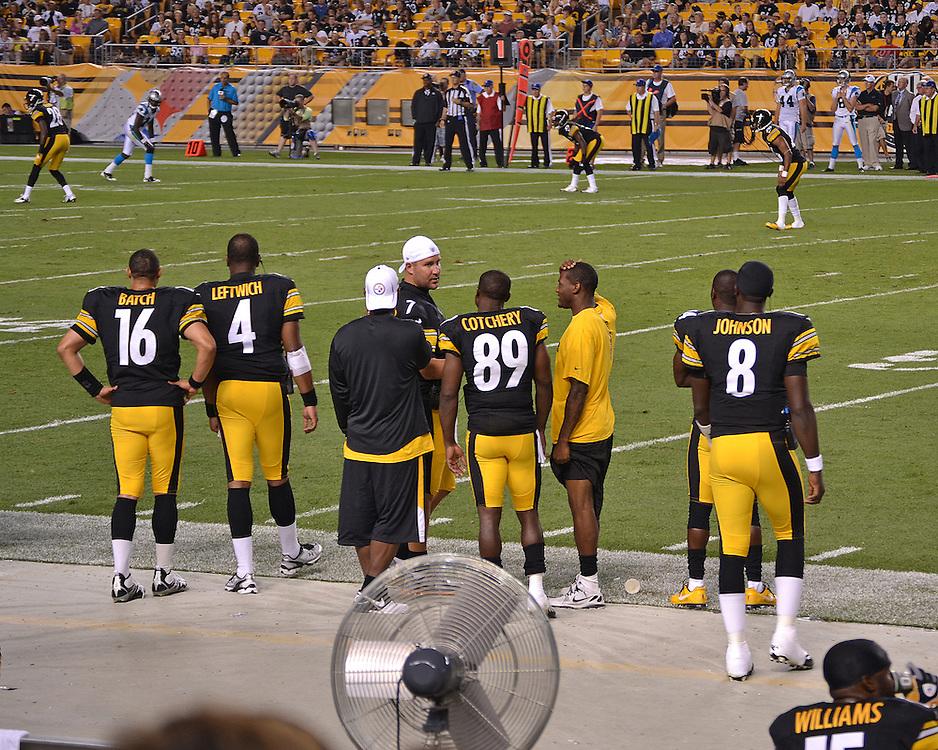 Pittsburgh Steelers vs Carolina Panthers