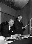 Annual Congress at the Gresham Hotel in Dublin..21.04.1957  21st April 1957