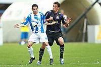 20091115: FLORIANOPOLIS, BRAZIL - Avai vs Corinthians: Brazilian League 2009. In picture: Ferdinando (Avai) and Edu (Corinthians). PHOTO: CITYFILES